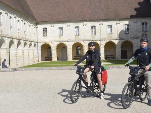 Départ depuis l'Abbaye d'Auberive