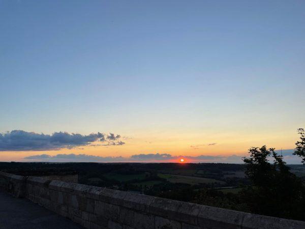 coucher de soleil Langres