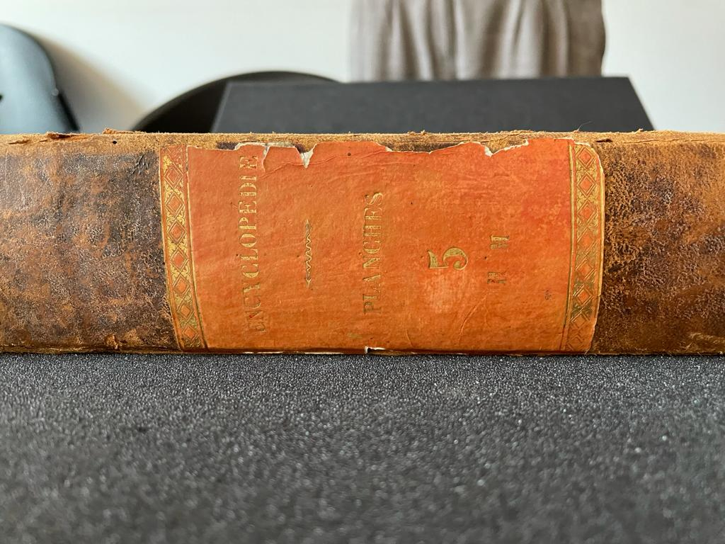 première édition encyclopédie Diderot