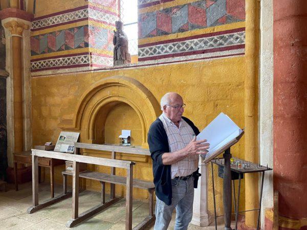 André Bailly à La Chapelle notre dame de presles