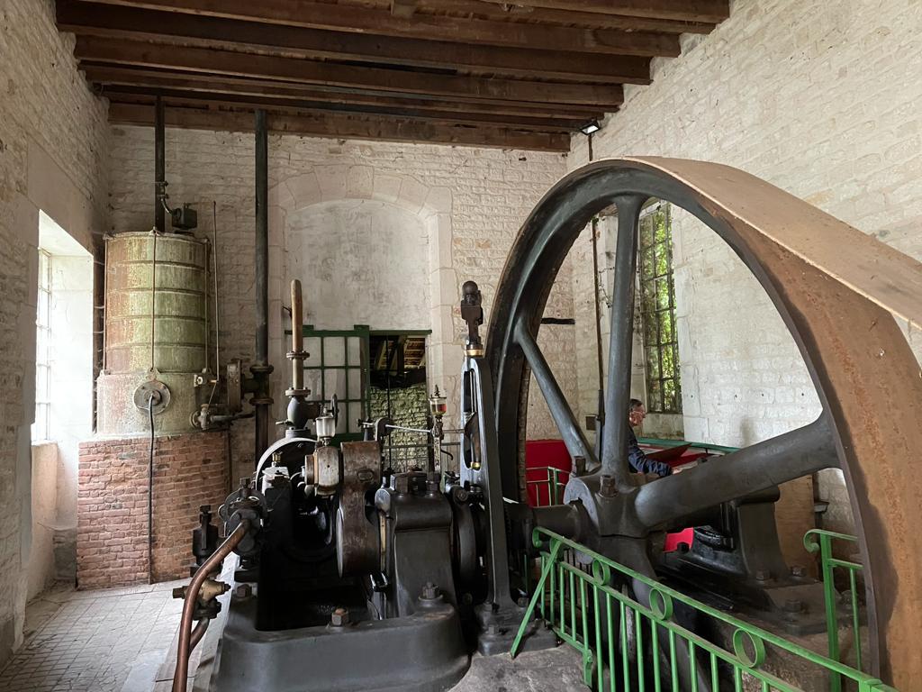 machine à vapeur arc en barrois