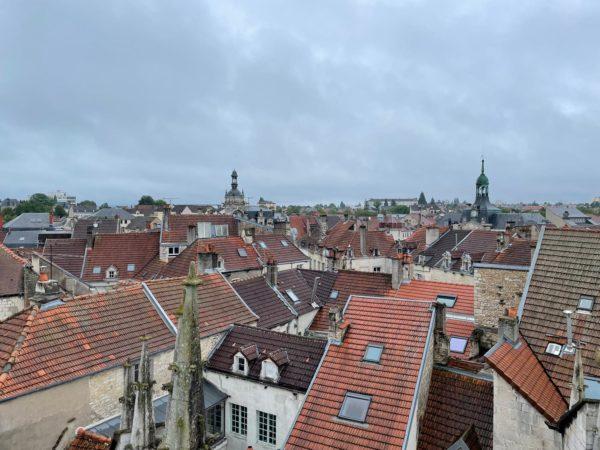 vue toit basilique chaumont