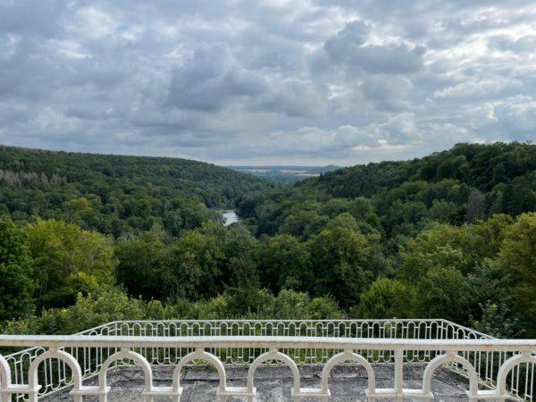 vue depuis le château de reynel